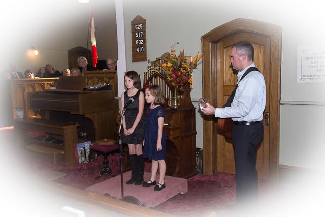 Special Music - Chris & Lindsay McPherson, Sara Suter